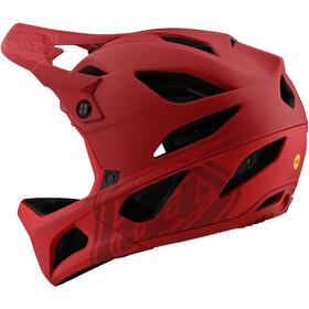 Troy Lee Designs Stage MIPS Helm, stealth red
